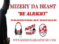 Image for MIZERY DA BEAST