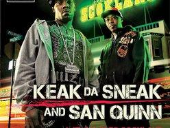 Image for Keak Da Sneak & San Quinn - Welcome To Scokland
