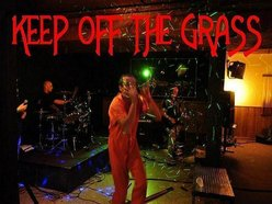 Image for KEEP OFF THE GRASS