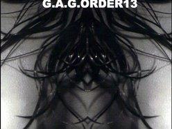 G.A.G.ORDER13 / Gabriel Anthony