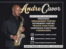 National Recording Artist Andre Cavor & The Cavor Project Band