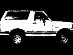 Image for White Ford Bronco