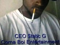CEO $tatic G of Corna Boi Entertainment