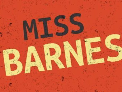 Image for Miss Barnes
