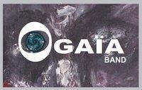 Logo oga a band sur peinture tom