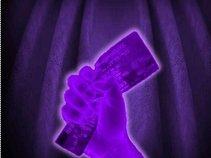 Crumpled Purple Ticket