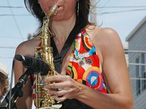 Kate Pittard, saxophonist and vocalist