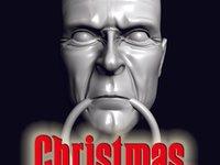 A christmas carol postcard front