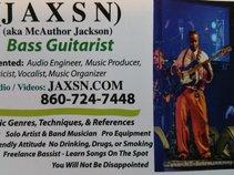 JAXSN : Christian (Songwriter / Musician / Bass Player / Producer)