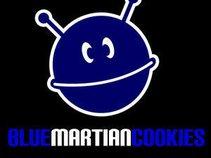 Blue Martian Cookies