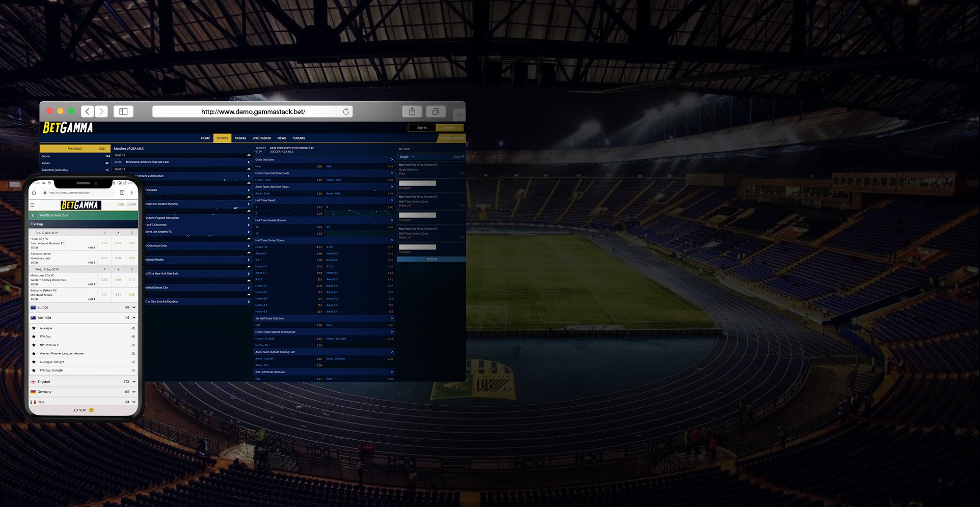 Stadium sports betting software free online sports betting calculator factor