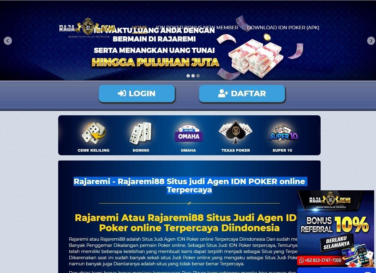 Rajaremi Idn Poker Songs Reverbnation