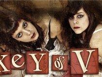 Key of V
