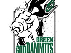 Image for The Green Goddammits