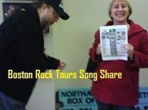 BOSTON ROCK TOURS SONG SHARE