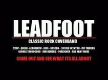 LEADFOOT Classic Rock Cover Band