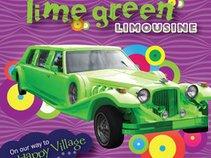 Lime Green Limousine