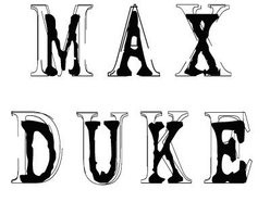 Image for Max Duke