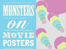 Monsters On Movie Posters