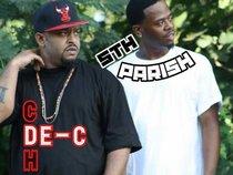 De-C from rap group 5th Parish