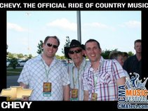 "Barry Coffey, Irish ""Whiskey River Band"""