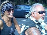 Libby N Mike Bikers