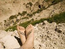 dirty hippie feet