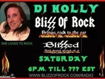 DJ Holly - Blizz Of Rock Radio