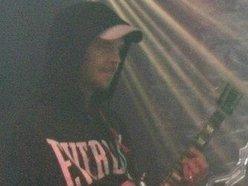 Torn guitar 1