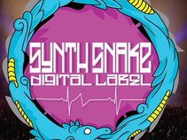 Synth Snake Digital Label