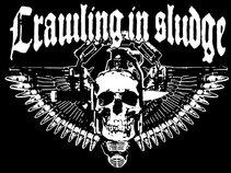 CRAWLING IN SLUDGE(Métal down tempo, rock, sludge, doom, stoner)