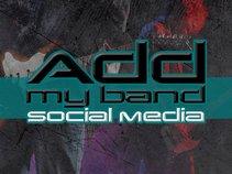 Addmyband Social Media