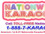 Nationwide Karaoke - Your Music Sung Nationwide!