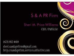 S & A PR Firm and Management Agency