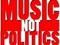 MUSIC NOT POLITICS