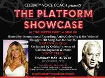 Celebrity Voice Coach Platform Showcase