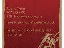 Brock Publicity and Promotions