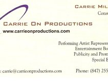 Carrie On Productions