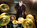 1383246193 drum overhead shot. during the video shoot.