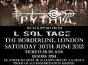 Saturday June 30th @ The Borderline, London