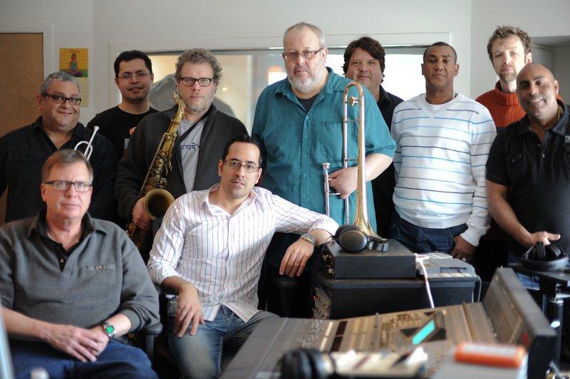 Jazzismo in the studio in Charlotte, VT