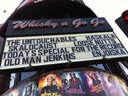 our name on the marquee!