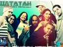 """Watatah on the set of the video """"Partycrashers"""" with KR3T's Dancers"""