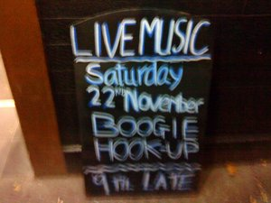 Boogie hook up
