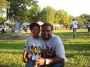Me and my son (Jacob) at Ensley Day.   Reppin Class Of  2004!