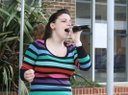Singing at Waterlooville Music Festival