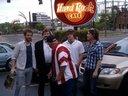 After the Show At The Hard Rock Cafe, Nashville, TN April 2012