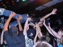 Milhouse crowd diving in LA, USA, 2008