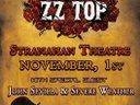 John Sevilla & Severe Weather Nov.1st Opening Act for ZZ-Top