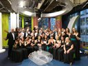 On BBC1's The One Show with The Severn Trent Choir